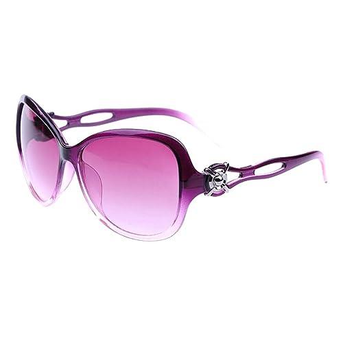 Gafas de sol - TOOGOO(R) nuevas gafas modernas de sol de estilo retro vendimia de ahueca hacia fuera...
