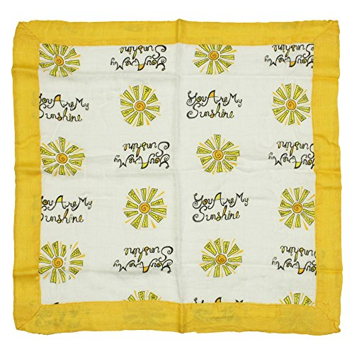 Nicki's Diapers Bamboo Security Blanket, You are My Sunshine (15