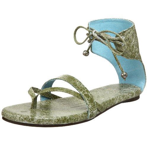 Cebu Sandal Baby Blue Green Fiel Womens Cracked Lamb Womens Fiel qnUgtSF