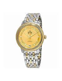 Omega De Ville Automatic Diamond Ladies Watch 424.20.33.20.58.002