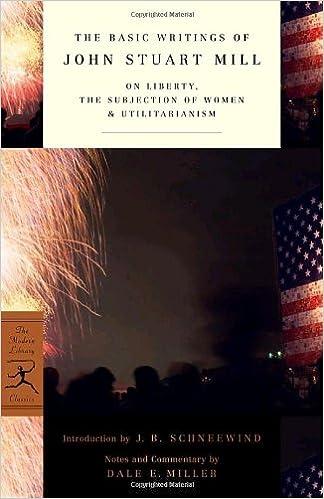 New essays on john stuart mill and utilitarianism