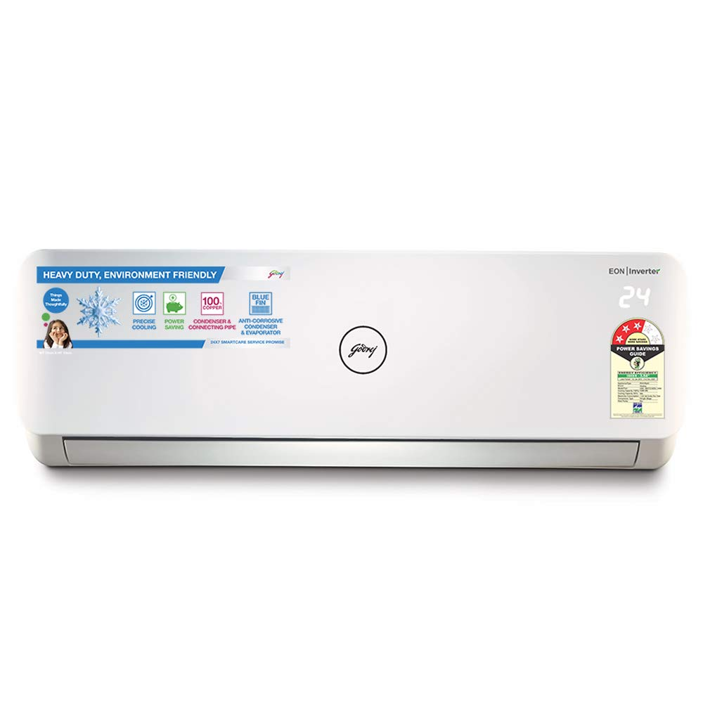 Godrej 1.5 Ton 3 Star Split AC (Copper GSC 18NTC3-WTA White)