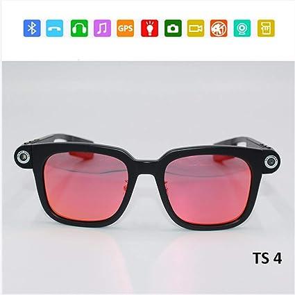 63afc7e690 Full HD WiFi Smart Sport gafas de sol, cámara toma fotos video gafas  Bluetooth 4