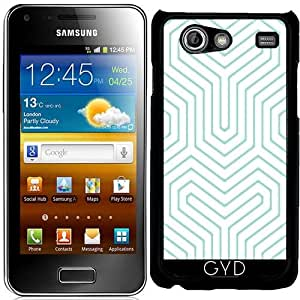 Funda para Samsung Galaxy S Advance (i9070) - Laberinto Azul by les caprices de filles