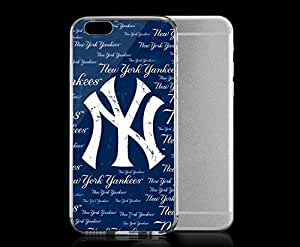 P-insa& Light weight Her with strong PC trap plastic case for good Iphone 6 Sports & Collegiate MLB increasing New York Yankees New York Yankees Cap Logo Blast