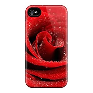 For OiDOdiu7zxrfW Red Dew For Celma Protective Case Cover Skin/iphone 4/4s Case Cover