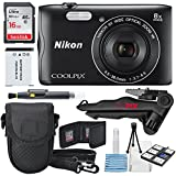 Nikon COOLPIX A300 Digital Camera and Bundle Photographer Starters Kit + Xpix Pro Tripod + Cleaning Pen + 16GB Card & Wallet + Battery + More