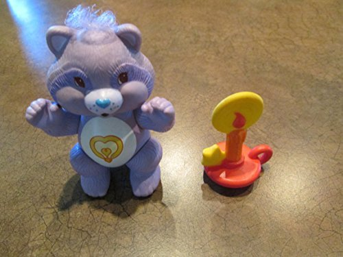 1983 Poseable Bright Heart Raccoon Care Bears Cousins Figure