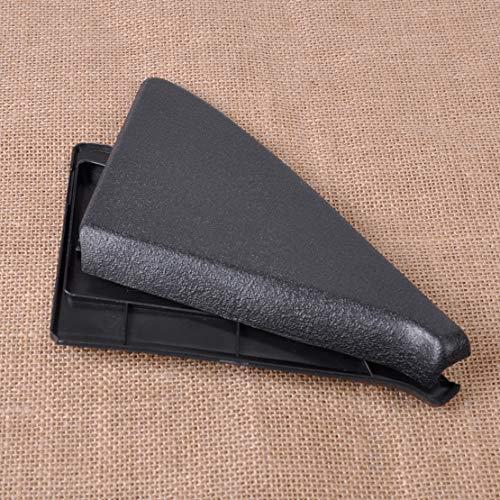 2pcs ABS Door Mirror Cover Trim Panel Mount 191837993 191 837 993 for VW Golf GTI Jetta GLI MK2 1985-1989 1990 1991