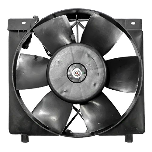 Cyl Radiator Cooling Fan 6 (Radiator Cooling Fan Motor Assembly Replacement for Jeep Cherokee (LHD) Comanche & Wagoneer 6 cyl 52005748)