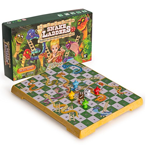 Champagne Snake (Magnetic Snakes and Ladders Set, Medium Size)