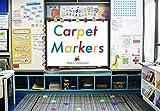 #4: Carpet Markers for Teachers (20 Pack of Stars)