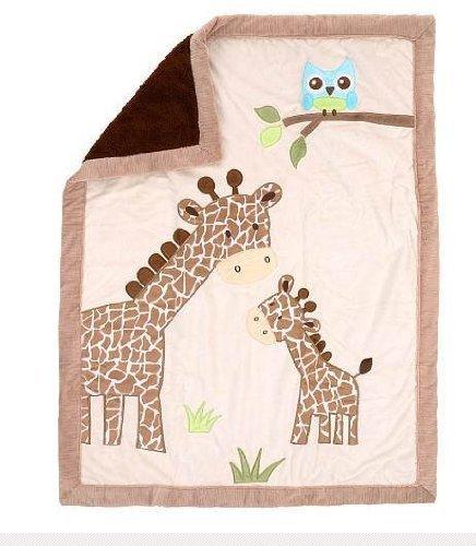 Babies R Us Koala Baby Jumbo Blanket - Giraffe, Ivory