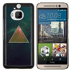 Eason Shop / Premium SLIM PC / Aliminium Casa Carcasa Funda Case Bandera Cover - Profundo Matemáticas Universo Espacio - For HTC One M9+ M9 Plus