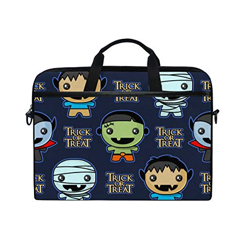 TARTINY 15-15.4 Inch Laptop Bag Seamless Trick Treat