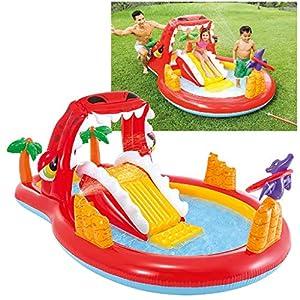 Intex 57160NP – Centro de juegos agua Happy Dino