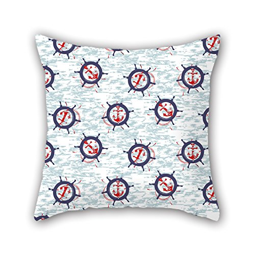 PILLO Sea Pillow Covers 16 X 16 Inches / 40 By 40 Cm Gift Or Decor For Home Theater,kids Room,living Room,monther,bar - Twin Sides