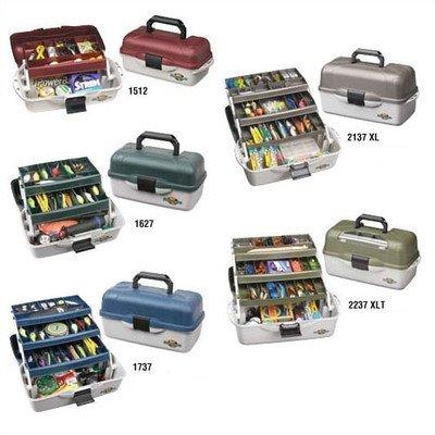 UPC 071617008307, Flambeau Tackle XL 3 Tray Tackle Box with Lid Storage (Black/Green, 20x10.25x10.378-Inch)