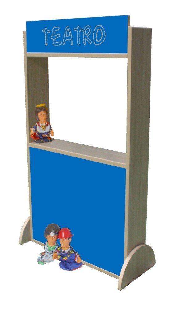 Dark bluee 71 x 115 x 30 cm Mobeduc Eco Theatre, 71 x 115 x 30 cm, Wood, Lavander bluee