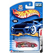 Hot Wheels 2003 Dragon Wagons Toyota Celica 4/5 RED #068 #68 1:64 Scale