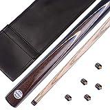 Mark Richard 1/2 Pieces 57 Inches Professional Handmade Snooker Cue Package, SA12 (SA16)