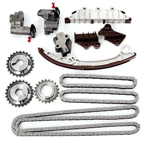 OCPTY TS965 Timing Chain Kits with Cam Sprockets 2002 Infiniti I35 2001 2002 2003 Infiniti QX4 2001 2002 2003 2004 Nissan Pathfinder