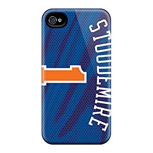 Iphone 4/4s ZYg13017YUMw Unique Design Realistic New York Knicks Pictures Shock-Absorbing Hard Phone Cover -MansourMurray