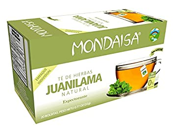 Amazon Com Mondaisa Juanilama Herbal Tea Costa Rica Caffeine Free