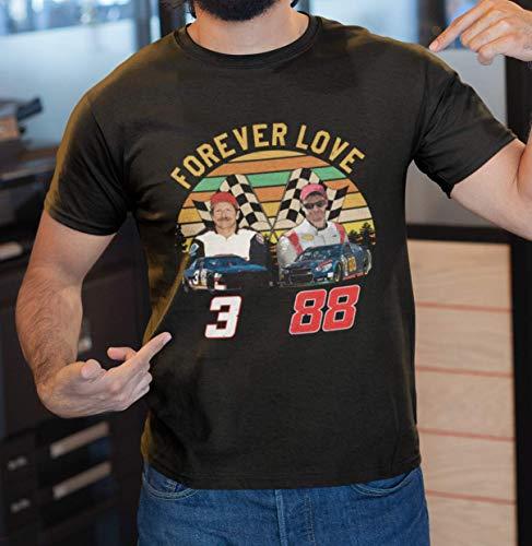 Earnhardt Shirt Racing Car Driver Legend Forever Love Customized Handmade T-Shirt Hoodie/Long Sleeve/Tank Top/Sweatshirt