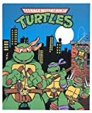 TMNT Teenage Mutant Ninja Turtle City Style Fleece Throw Blanket