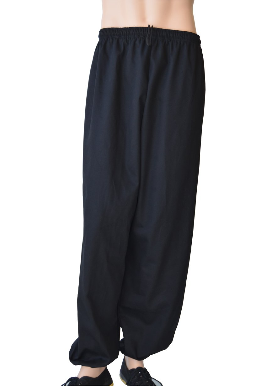 Jonie Uniforms Kung Fu Pants in 100% Cotton Twill-Kid Medium (Outseam: 32'' Waist: 32''~20'') by Jonie Uniforms