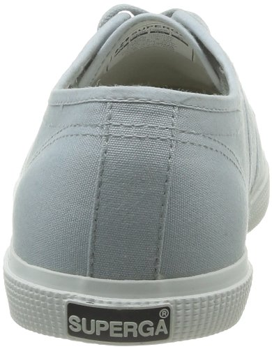 Unisex Grey de lona 506 Superga 2950 Cotu Zapatillas Gris Lt Tn8OX