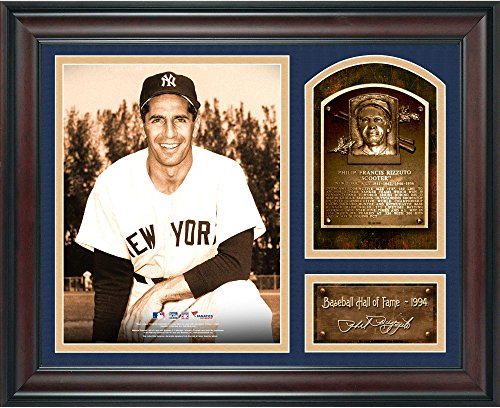 Phil Rizzuto Baseball Hall of Fame Framed 15