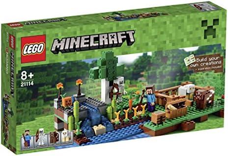 LEGO 21114 Minecraft - La granja, multicolor: Amazon.es: Juguetes y juegos