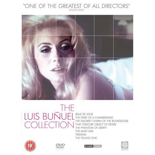 The Luis Bunuel Collection - 8-DVD Box Set ( Beauty of the Day / The Diary of a Chambermaid / The Discreet Charm of the Bourgeoisie / That Obscure Object of Desire / The Phantom of [ NON-USA FORMAT, PAL, Reg.2 Import - United Kingdom ]