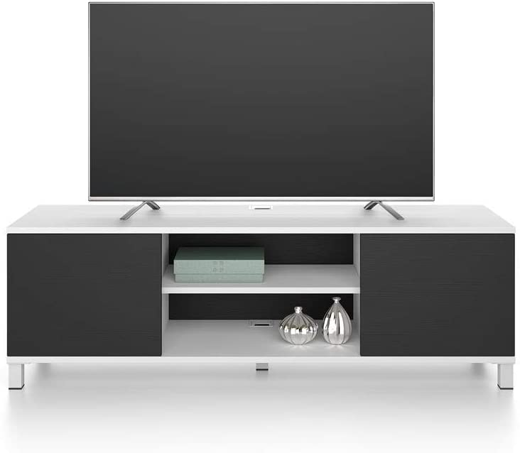 Nobilitato Mobile Porta TV Rachele Made in Italy Disponibile in Vari Colori Bianco Frassino Mobili Fiver