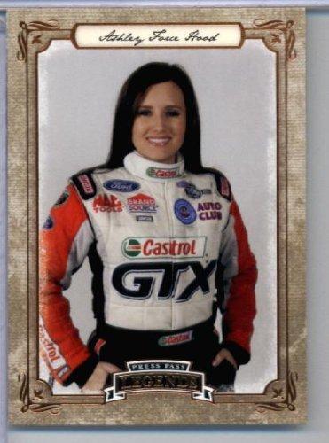 2010 Press Pass Legends Racing Card # 42 Ashley Force Hood In Protective Screwdown - Ashley Force Hood