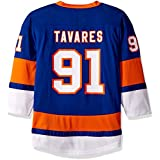 OuterStuff NHL New York Islanders Youth Boys Replica Home-Team Jersey, Small/Medium, Royal