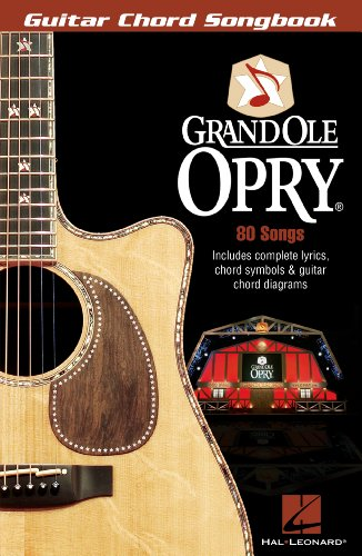 Grand Ole Opry Songbook: Guitar Chord Songbook - Kindle edition by ...
