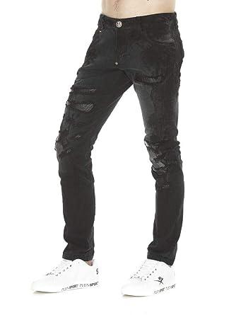 02edc397cca Philippe Plein Jeans moroy 30  Amazon.fr  Vêtements et accessoires