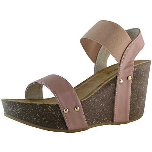 Wedge Ankle Strap Platform Sandal - 9