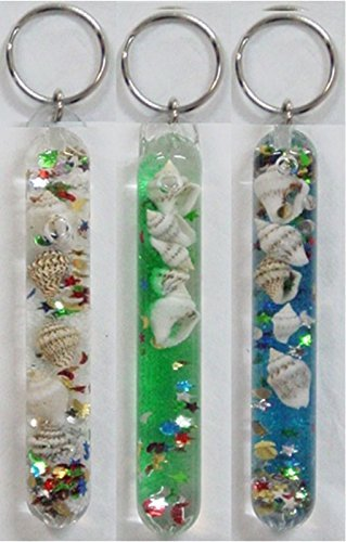 Shells Wand (Prismatic Glitter Wand Key Chain (Shells, Moons, and Stars))