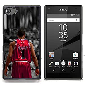 - Rose 1 Basketball/ Hard Snap On Cell Phone Case Cover - Cao - For Sony Xperia Z5 compact / mini