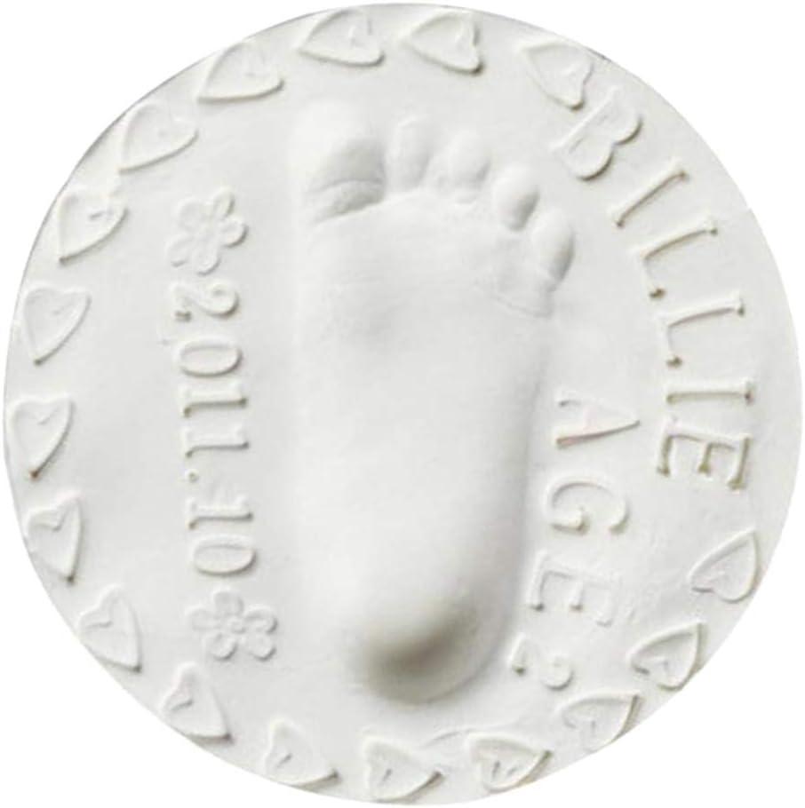Esquirla 8 Pack Baby Air Drying Soft Clay Mud Handprint Footprint Imprint Casting Kits Baby Handprint Footprint Ornament Gift Souvenir