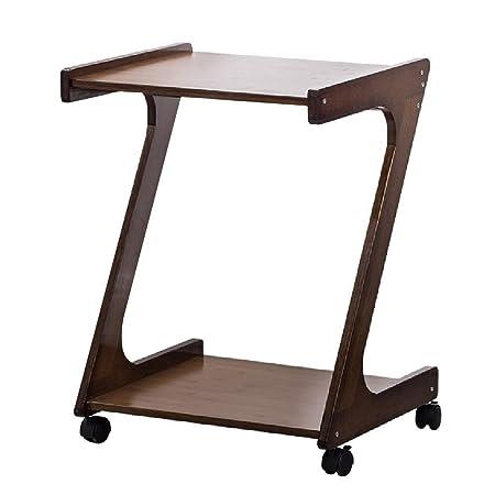 QQDNZ Computadora de escritorio - madera de la computadora de ...