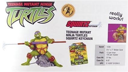 Amazon.com: Teenage Mutant Ninja Turtles squirtz Llavero ...