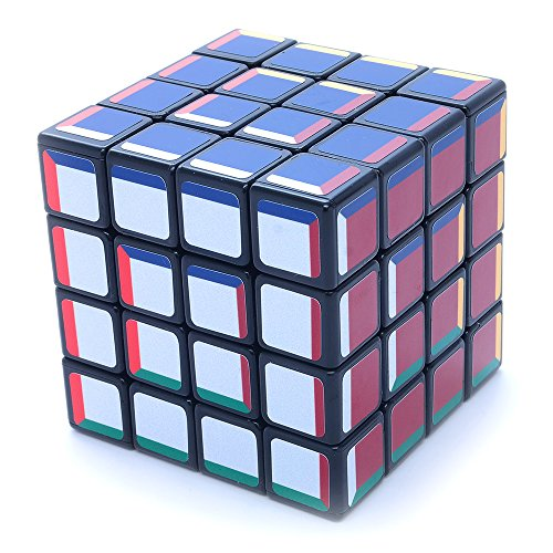 4x4x4 Super Pochmann Black Supercube Sticker Mod Twisty Puzzle Cube