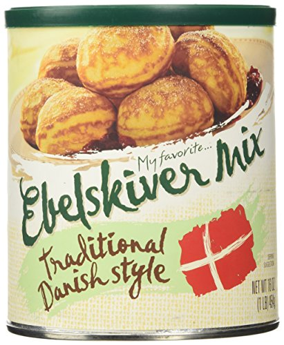 My Favorite...Traditional Danish Style Ebelskiver Mix - 16 oz (Ebleskiver Mix compare prices)