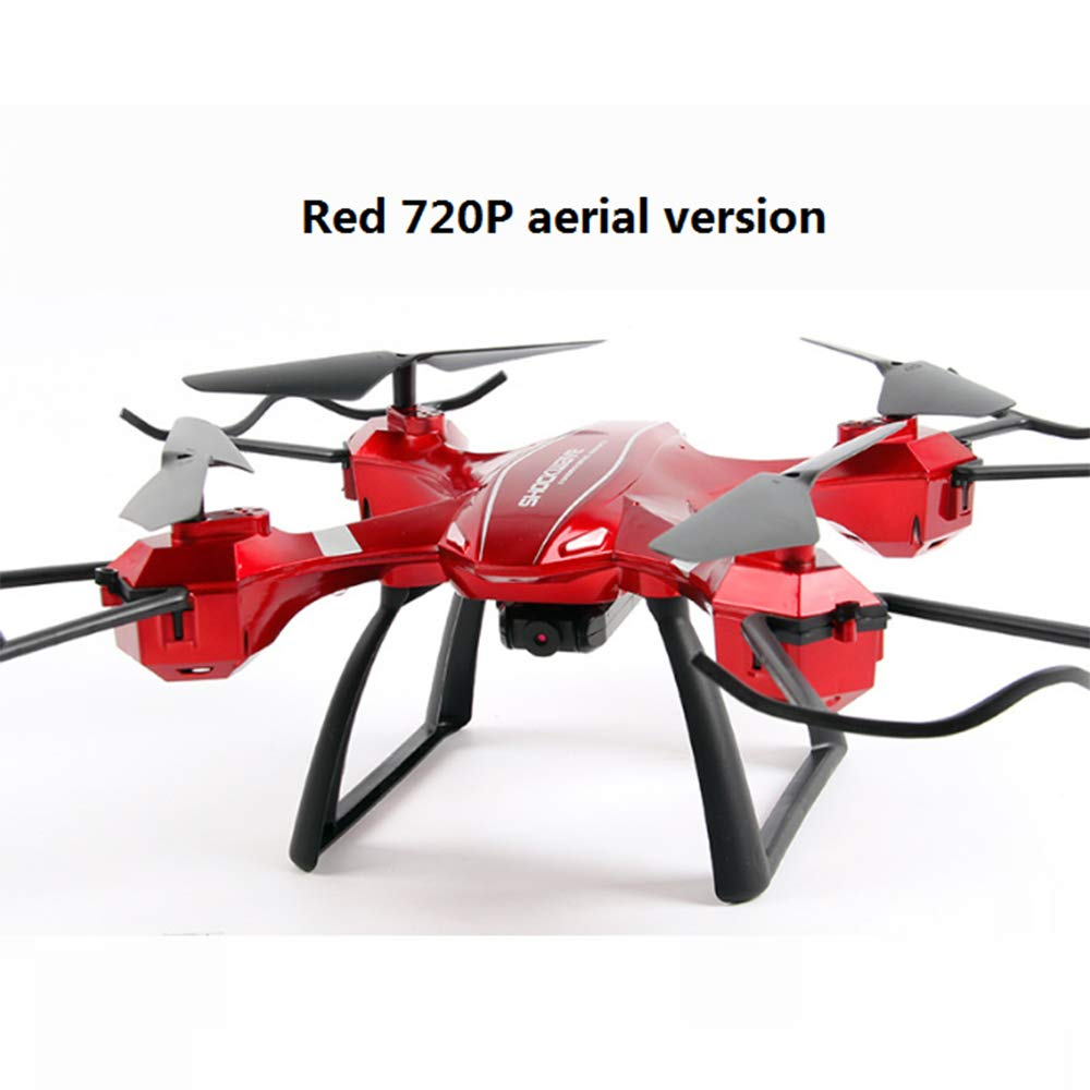 Red QHWJ Mini Remote Drone, Remote Control Aircraft Fouraxis Drop Drone Hd Professional Longlasting Aerial Model Helicopter Toy Boy