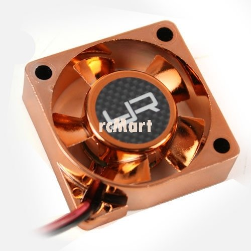 - Yeah Racing Tornado High Speed Cooling Fan Orange 30x30mm For Motor Heat Sink #YA-0180OR
